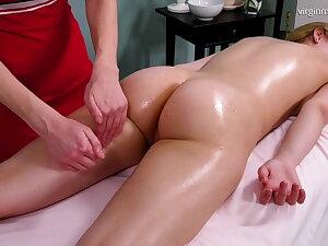 Irka Davalka, virgin erection massage