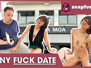 Tiny Candy enjoys a ineluctable fuck date! Snap-fuck.com