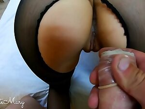 CHEATING Tie the knot STRANGER TAKES CONDOM OFF AND GETS Unintended CREAMPIE