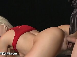 Cute Young Blonde Elsa Jean Banged By Eric John's Heavy Cock