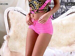 Hot Mistreat In Pink Panties