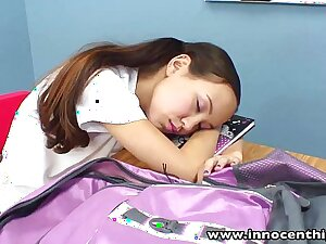 InnocentHigh Crammer banging shrivelled Asian teens tight pussy