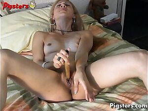 Italian Teen in Ecstasy As A She Masturbates Unsurpassed
