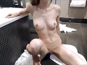MissAlice 94 MissAlice Down in the mouth Blonde Teen Toys Pussy On Cam