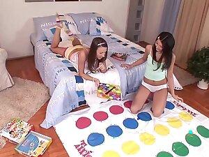 Euro Teen Erotica - College Teens in playmate bodies go Lesbian