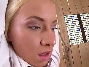 Murderous Doctor Binds, Spanks, and Fucks Rebellious Schoolgirl Kiara Lord