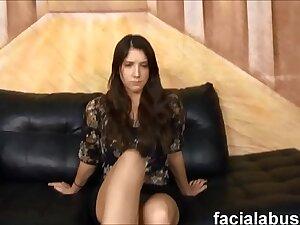 Young fathom approximately slut gets attitude adjustment at Face Fucking