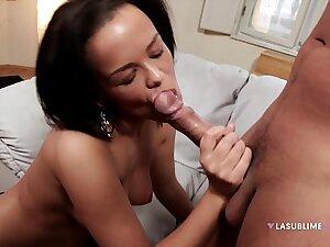 LaSublimeXXX Cuban girl Linette Slag gets fucked overwrought big unearth